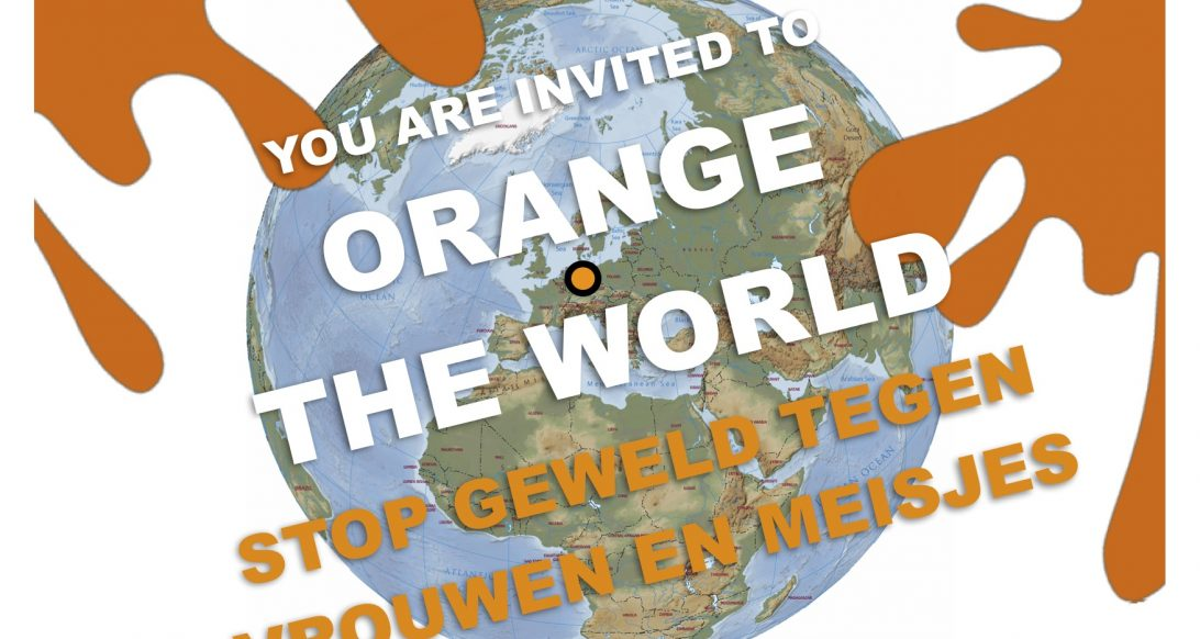 zonta says no/ orange the world