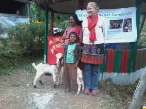 geitenproject Nepal