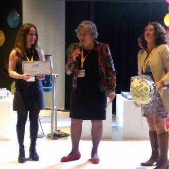Susanna Papyan ontvangt JMK award