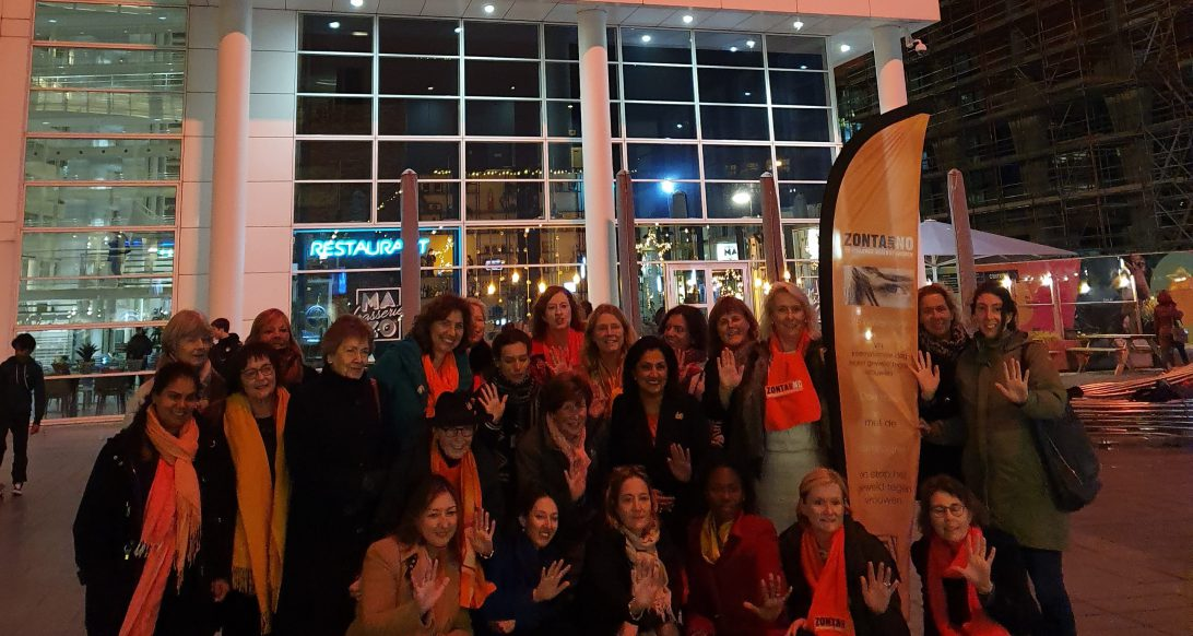 Zonta Den Haag Orange the world