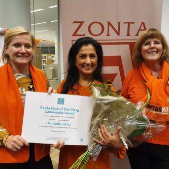 Zonta Centennial Award voor Hameeda Lakha